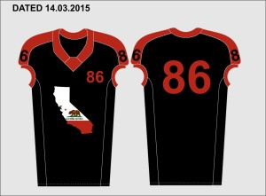 Pac West South All Star Uniform